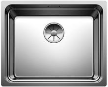 Blanco Etagon 500-IF/N UXI Kjøkkenvask 54x44 cm m/InFino kurvventil, Rustfritt Stål