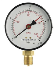 "Manometer 1/4 "" 63mm 4kg"