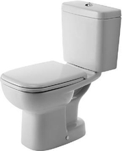 Duravit D-Code toalett m/S-lås, hvit