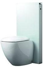 Geberit Monolith sisterne t/gulvstående toalett, Hvit