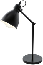 Eglo Priddy Bordlampe, Sort