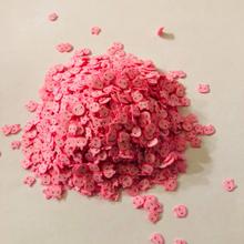 Søde lyserøde grisehoveder Palietter