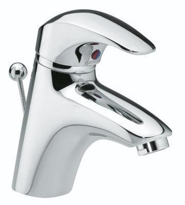 Damixa Space Håndvaskbatteri m/Bundventil, Krom