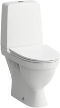 Laufen Kompas toilet m/P-lås, skruemontering, rengøringsvenlig, hvid