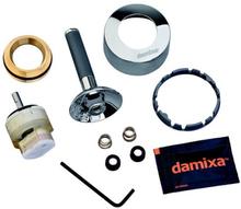 Damixa grep og kappesett - krom / grå til Arc
