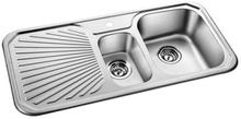 Prisma Chicago Kjøkkenvask 101x49 cm, m/kurvventil, Rustfritt stål