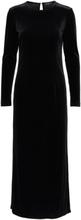 SELECTED Velvet - Maxi Dress Women Black