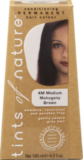 Tints of Nature hårfarve 4M Medium Maghony Brown - 120ml