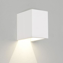 Astro Parma 100 væglampe LED 3W/830, Hvid Gips