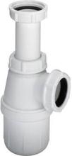 Vannlås, hvit PVC
