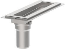 Blücher Waterline avløp, 300 mm, Til betong/fliser
