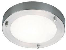 Nordlux Ancona Plafond LED 6W, Børstet stål