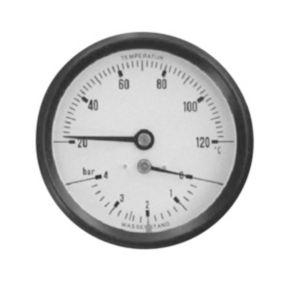 Hydrotermometer 1/2X80 0-10MVS