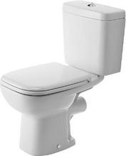 Duravit D-Code toalett m/P-lås, hvit