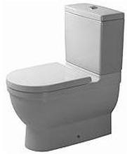 Duravit Starck 3 toalett m/P-lås & wondergliss, hvit