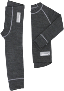 Undertøysett Merino Wool Set Junior i to deler fra Lindberg