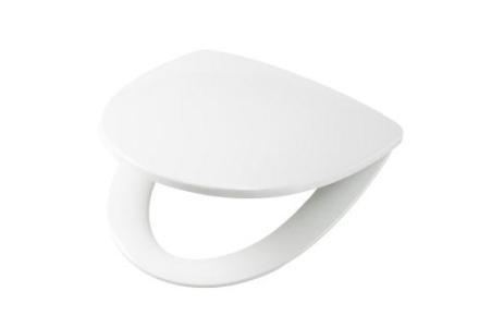 Ifö Sign Art toalettsits m/softclose med toppmonterade fasta beslag - Vit