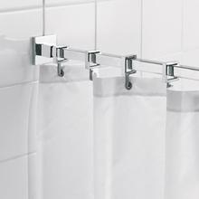 HeFe fyrkantig duschstång (montering med skruvar)