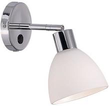 Nordlux Ray Vegglampe, Krom/hvit