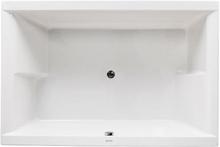 Royal Laura dobbelt badekar med armatur 179 x 120 cm