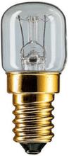 Philips Ovnpære Rør - 15 watt - 300° - E14 - Klar