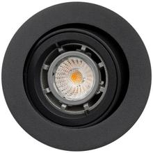 SG Jupiter udendørs indbygningsspot LED 6,5W GU10 i sort