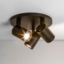 Astro Ascoli 3-rondel GU10, Bronze