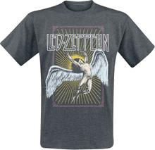 Led Zeppelin - Icarus Colour -T-skjorte - mørkegrå
