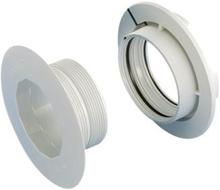 Wavin type 1 pladevægstilbehør t/koblingsdåse - 1-2 lag gips