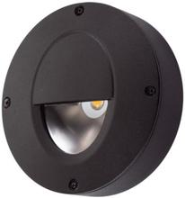 SG Callisto Udendørs væglampe 4W LED, Sort