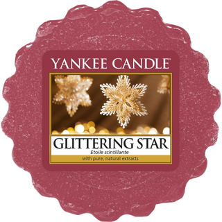 Köp Glittering Star, Wax Melts Candles 22 g Yankee Candle Doftljus fraktfritt