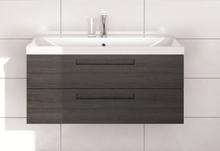Noro Relounge møbelpakke med skuffer 102,5 x 42 cm i mat sort