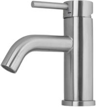 Primy Wave håndvaskarmatur, rustfrit stål