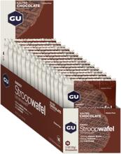 GU Energy Stroop Wafel Box Glutenfree 16x32g Salted Chocolate 2020 Näringstillskott & Paket
