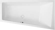 Royal Camilla asymmetrisk badekar højrevendt 160 x 60/90 cm