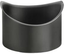 VM Zinc tudstykke med Ø80 mm nedløb til tagrende nr. 11 halvrund i antrazink