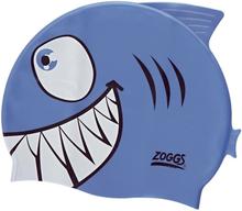 Zoggs Character Silicone Cap Barn shark 2020 Badehetter