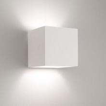 Astro Pienza 165 Væglampe, Hvid gips