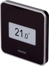 Uponor Smatrix Style trådlös T-169 termostat med display - Svart