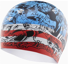 TYR Home of the Brave Badehette red/white/blue 2019 Badehetter