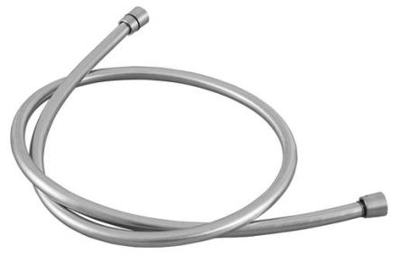 Primy bruseslange 1,5 meter, sølv