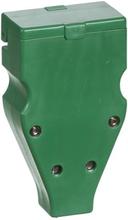 LK Flerpolet forlængerled, 3P+N+J, 440V, Grøn