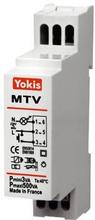 Yokis MTV500M Lysdæmper til DIN-skinne, LED, 230V, Hvid