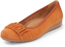 Ballerinaskor getmocka från Gabor Comfort orange