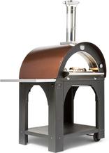 Pulcinella 80 Vedeldad Ugn/Pizzaugn (Takfärg: Tak i rostfritt stål)