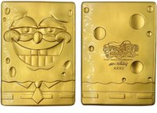 Fanattik SpongeBob SquarePants 24k Gold Plated Ingot