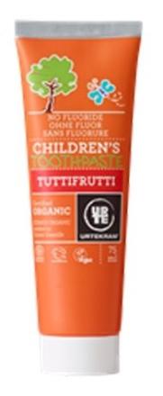 Urtekram Tandpasta Tuttifrutti u. fluor 75ml.