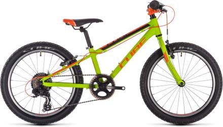 """Cube Acid 200 Lapset lasten polkupyörä , keltainen/vihreä 20"""" 2019 Lasten kulkuneuvot"""