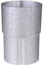 Plastmo rørsamlemuffe i aluzink med Ø90 mm nedløb