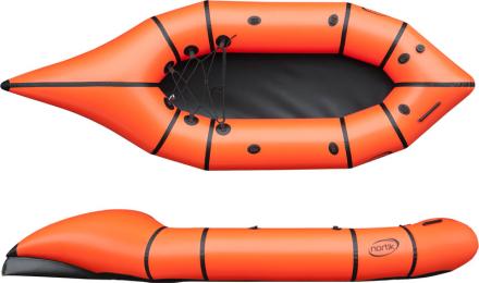 nortik CityRaft Båd orange/sort 2018 Gummibåde